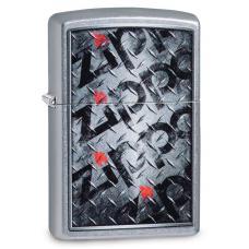 Зажигалка ZIPPO Diamond Street Chrome