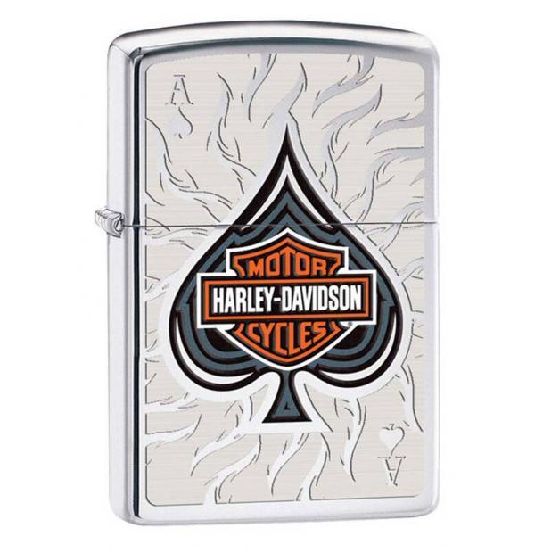 Зажигалка ZIPPO Harley-Davidson High Polish Chrome
