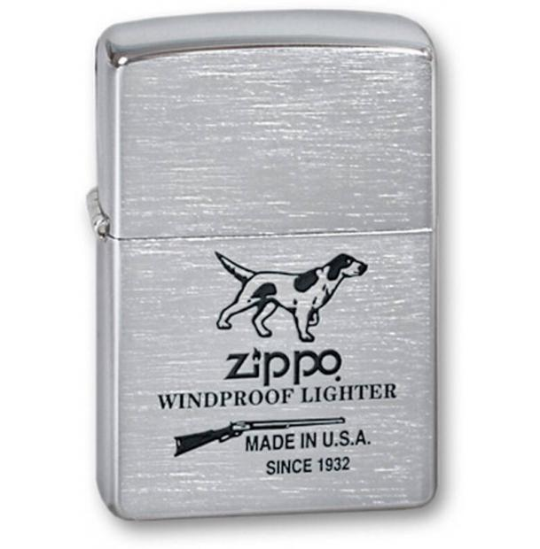 Зажигалка ZIPPO Hunting Tools Brushed Chrome
