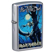 Зажигалка ZIPPO Iron Maiden Street Chrome 49234