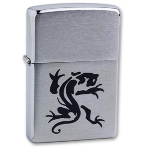 Зажигалка ZIPPO Panther Brushed Chrome