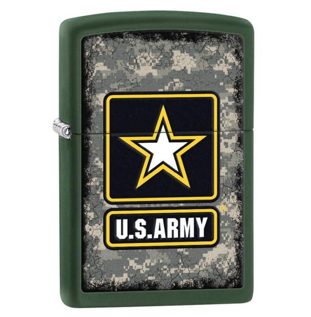 Зажигалка ZIPPO US Army Green Matte