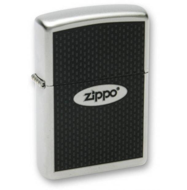 """Зажигалка ZIPPO """"ZIPPO Oval"""" Satin Chrome  205 Zippo Oval"""