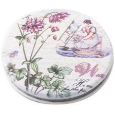 Зеркало карманное круглое Dewal Beauty MR6