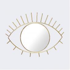 Зеркало настенное Doiy Cyclops большое золотое