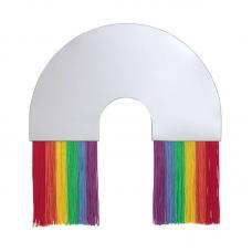 Зеркало настенное Doiy Rainbow среднее