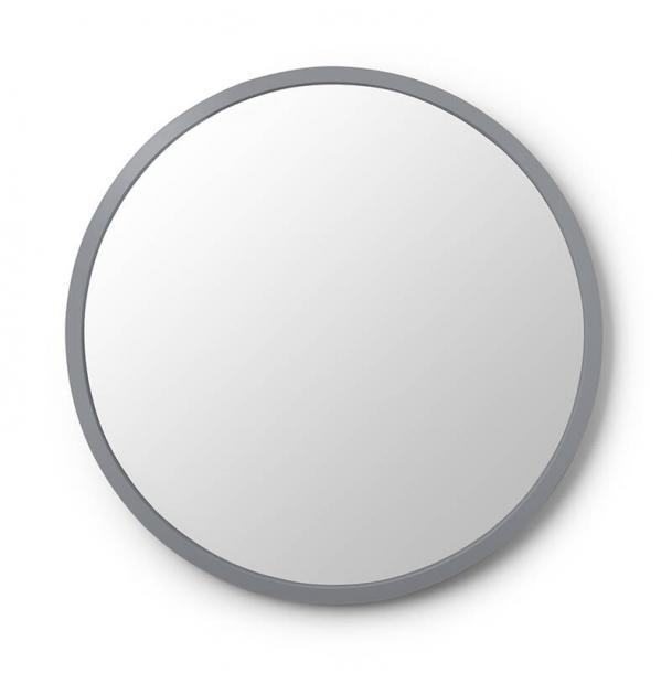 Зеркало Настенное Umbra Hub Д61 См Серое