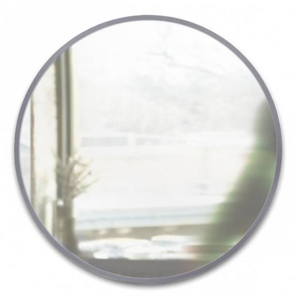 Зеркало Настенное Umbra Hub Д94 См Серое