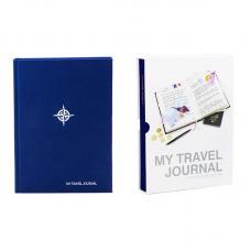 Журнал путешественника Suck UK My travel синий